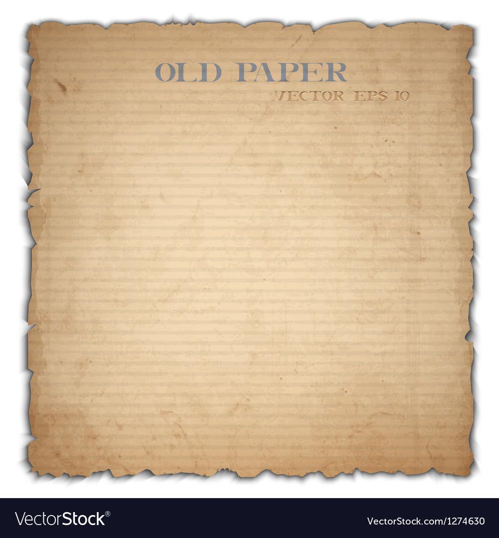 Sheet of old cardboard vector | Price: 1 Credit (USD $1)