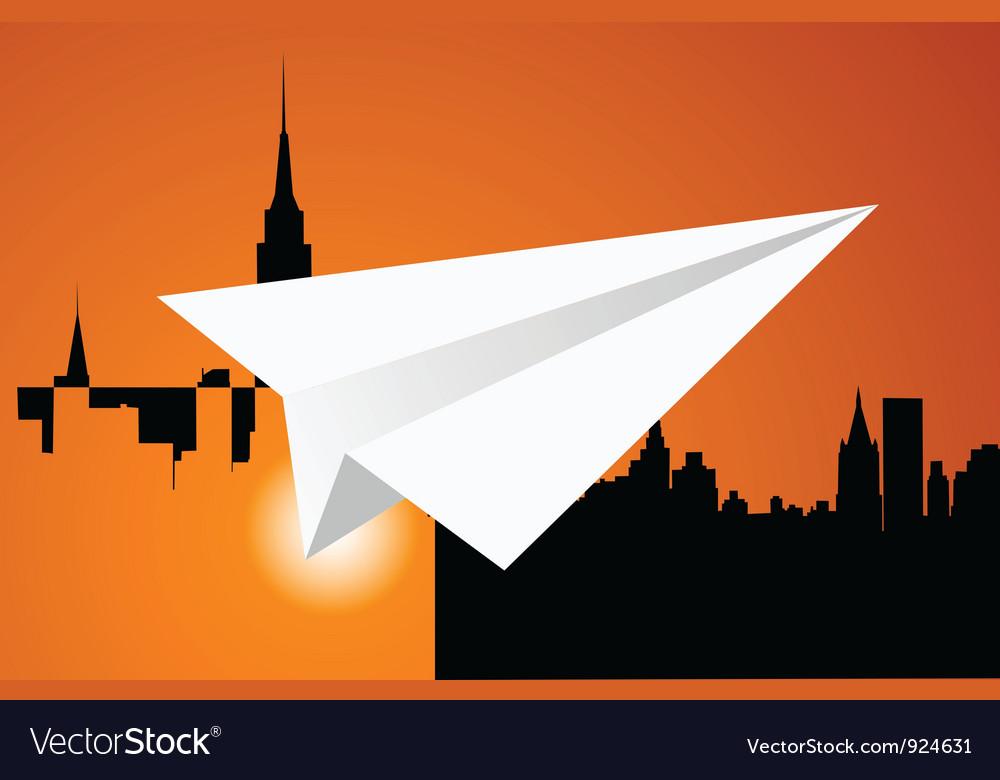 The paper plane vector | Price: 1 Credit (USD $1)