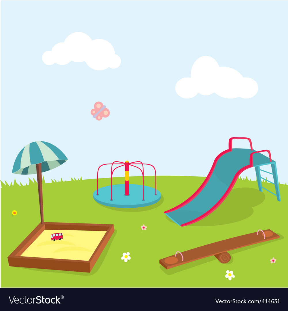 Playground vector | Price: 1 Credit (USD $1)