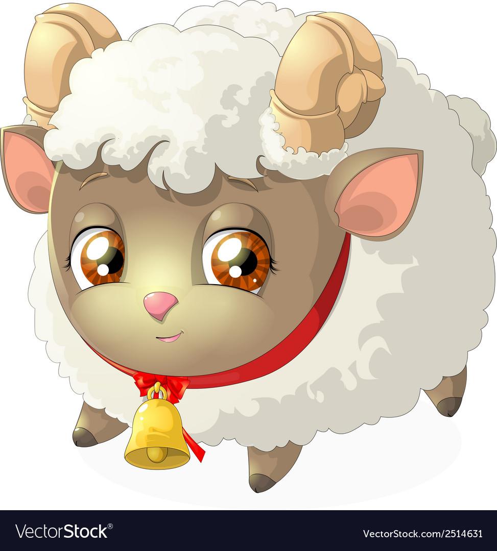 Sheep vector | Price: 3 Credit (USD $3)