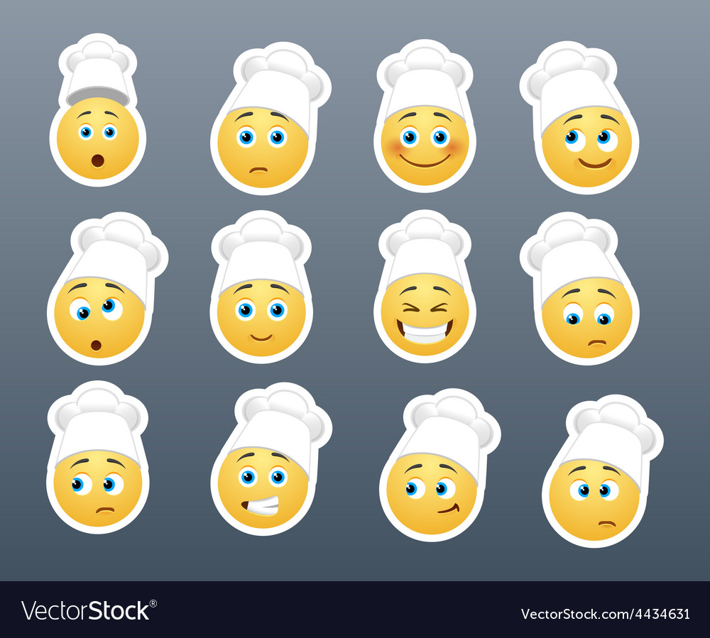 Smilies in the kitchen vector   Price: 1 Credit (USD $1)