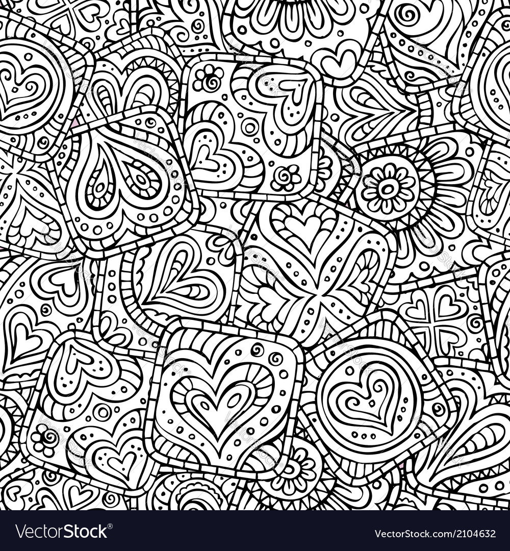 Love and feeling theme seamless pattern vector | Price: 1 Credit (USD $1)
