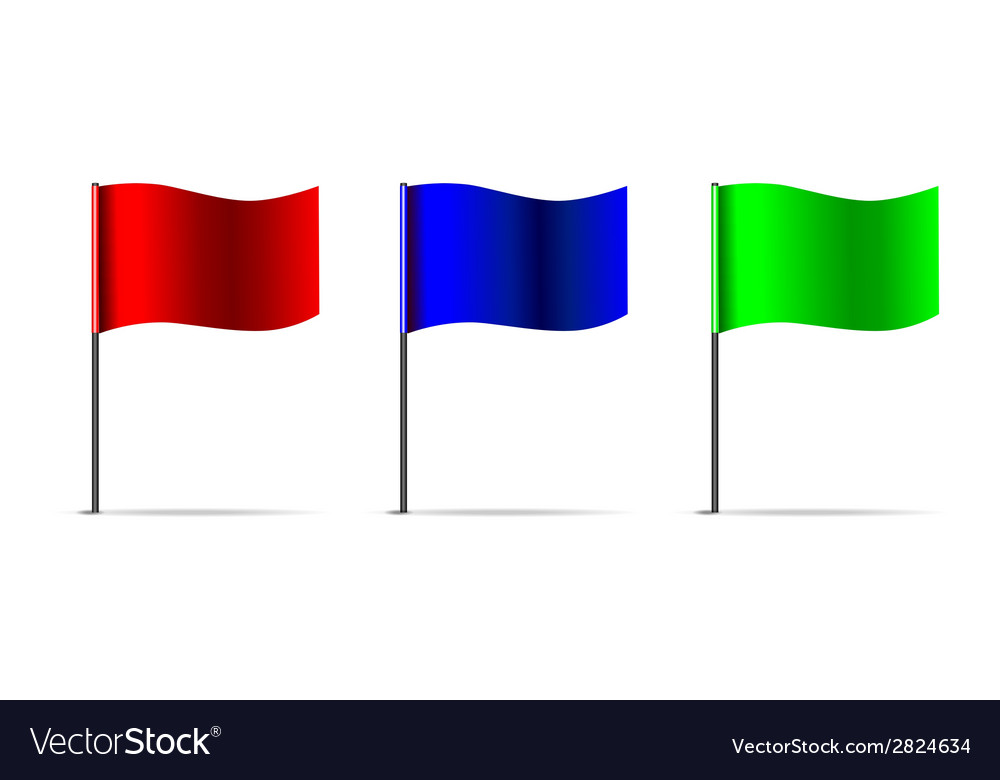 3d flags vector | Price: 1 Credit (USD $1)