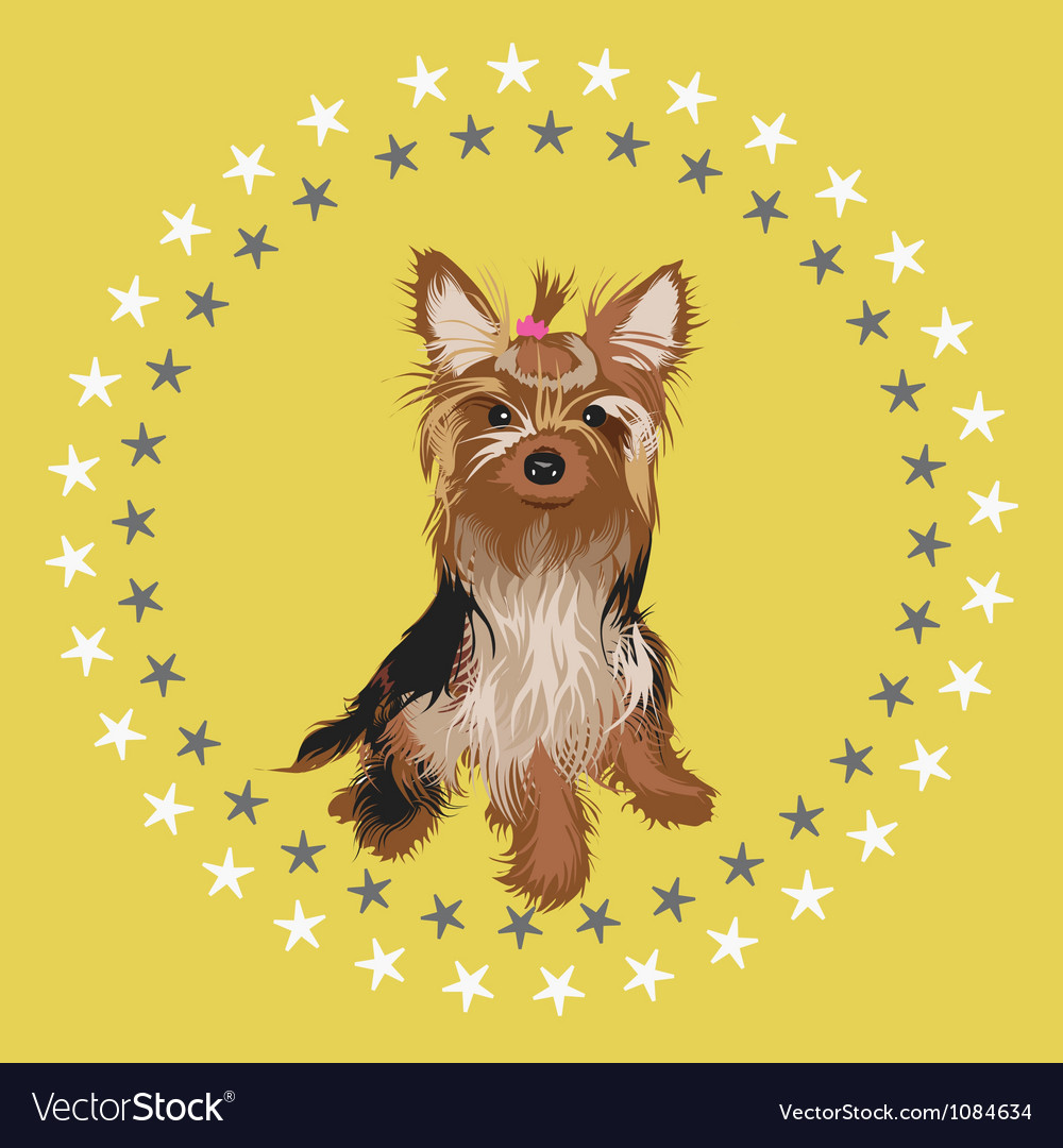 Little dog -desgn vector | Price: 1 Credit (USD $1)