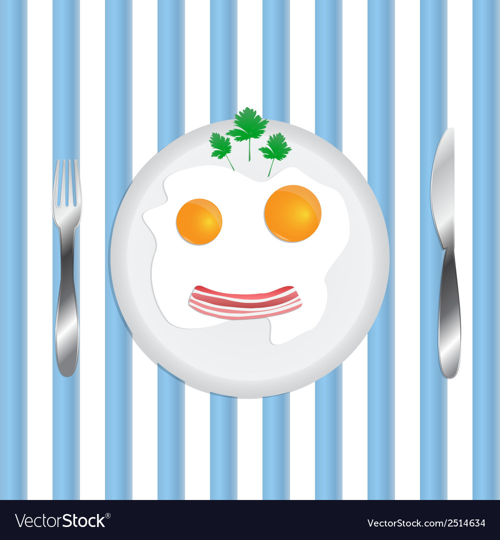 Scrambled in a smile vector | Price: 1 Credit (USD $1)