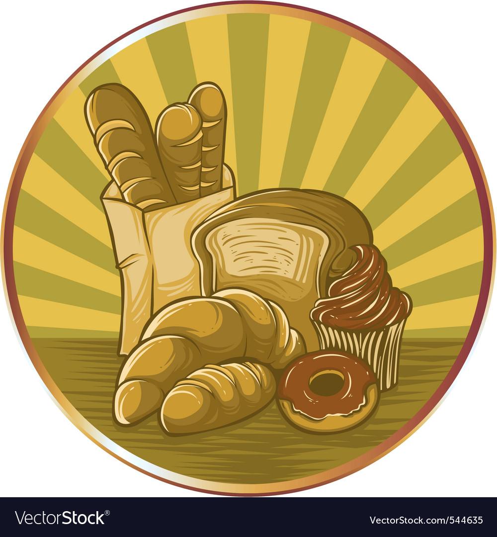Bread logo vector | Price: 1 Credit (USD $1)
