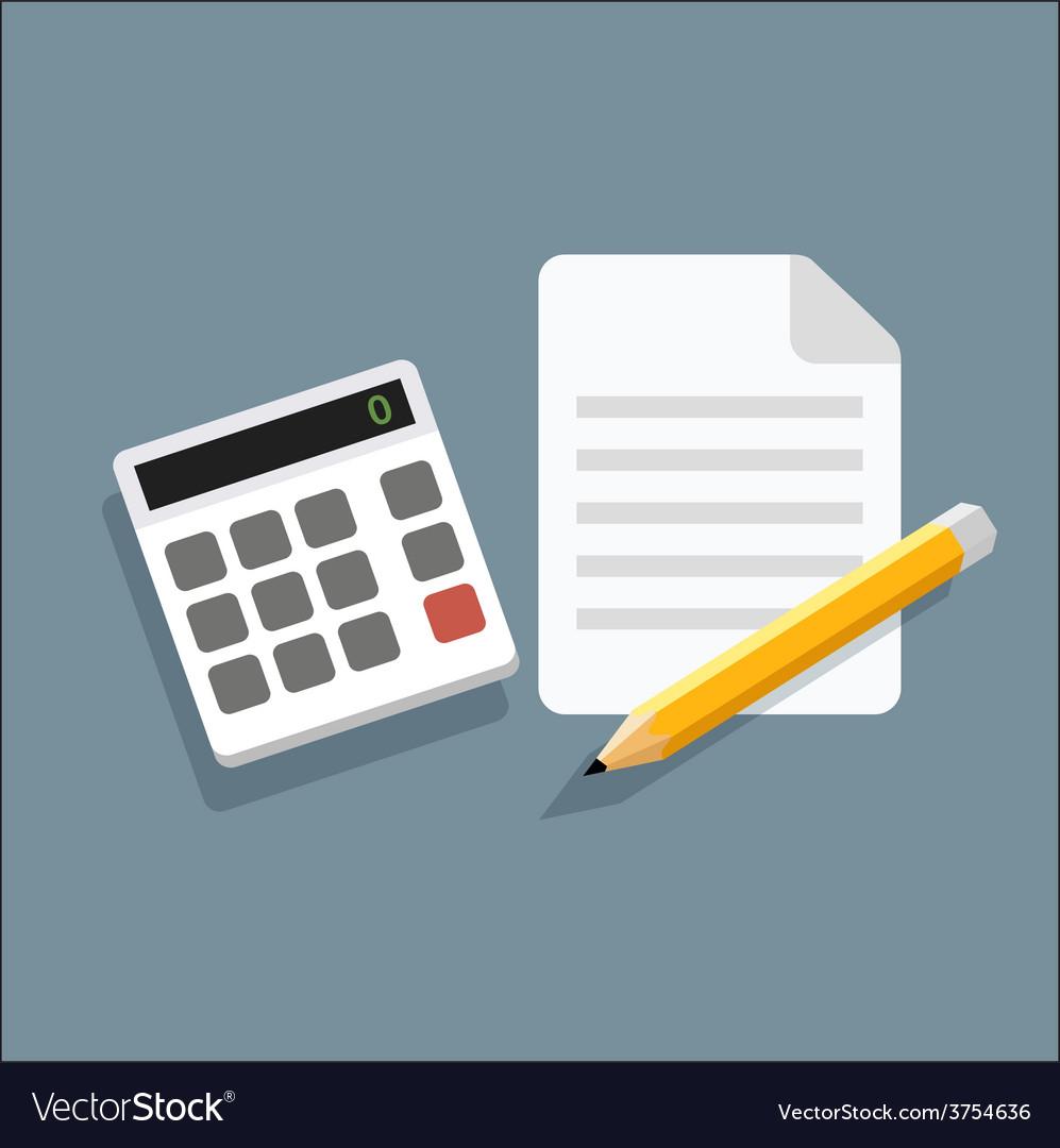 Calculatorpencilicon vector   Price: 1 Credit (USD $1)
