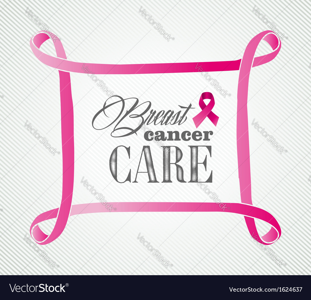 Breast cancer awareness concept frame eps10 file vector | Price: 1 Credit (USD $1)