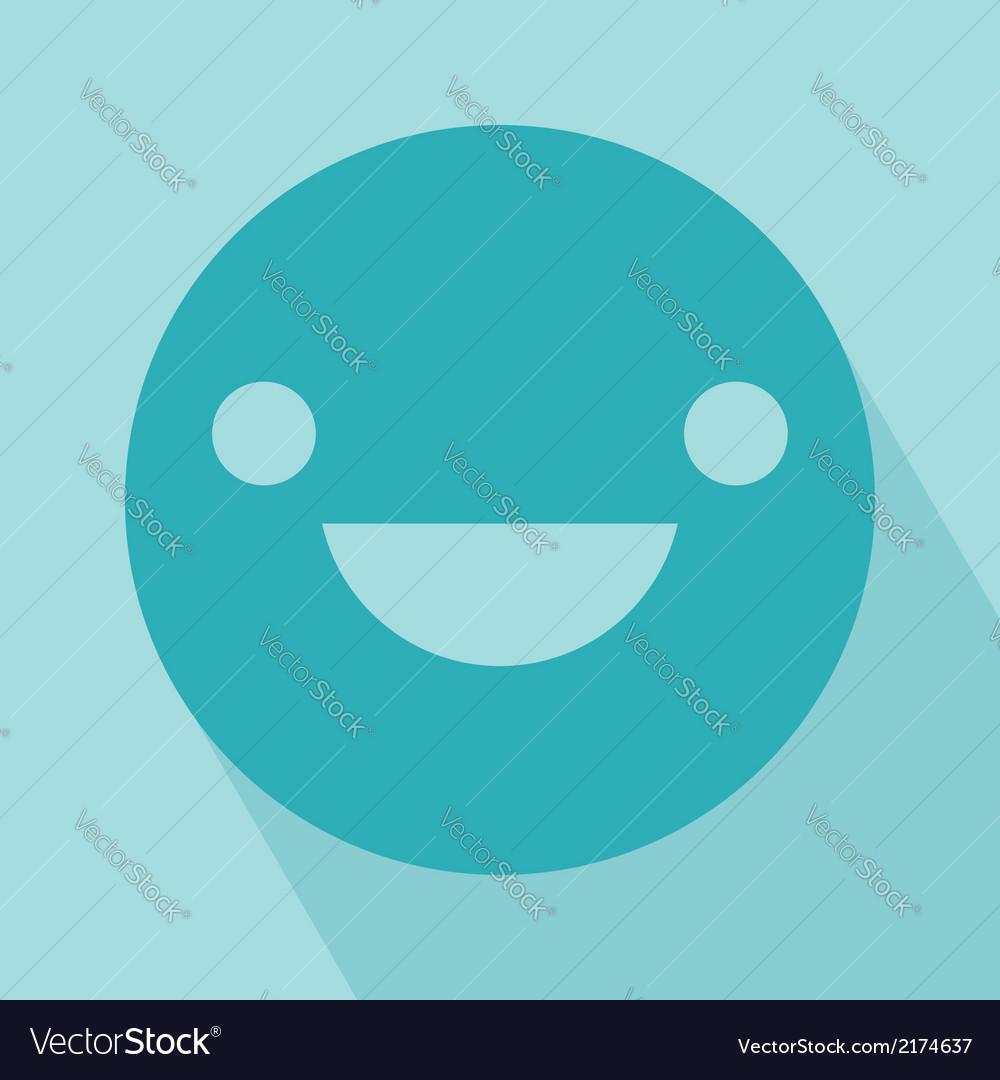 Smile icon vector | Price: 1 Credit (USD $1)