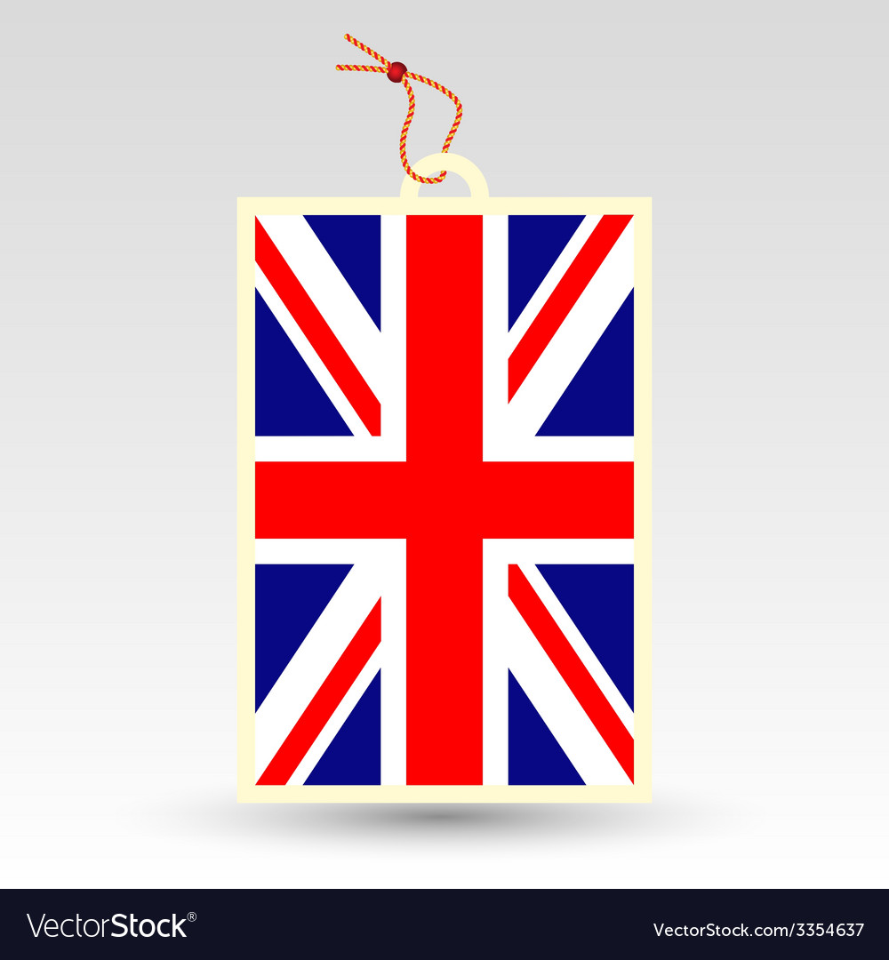 Uk tag vector | Price: 1 Credit (USD $1)