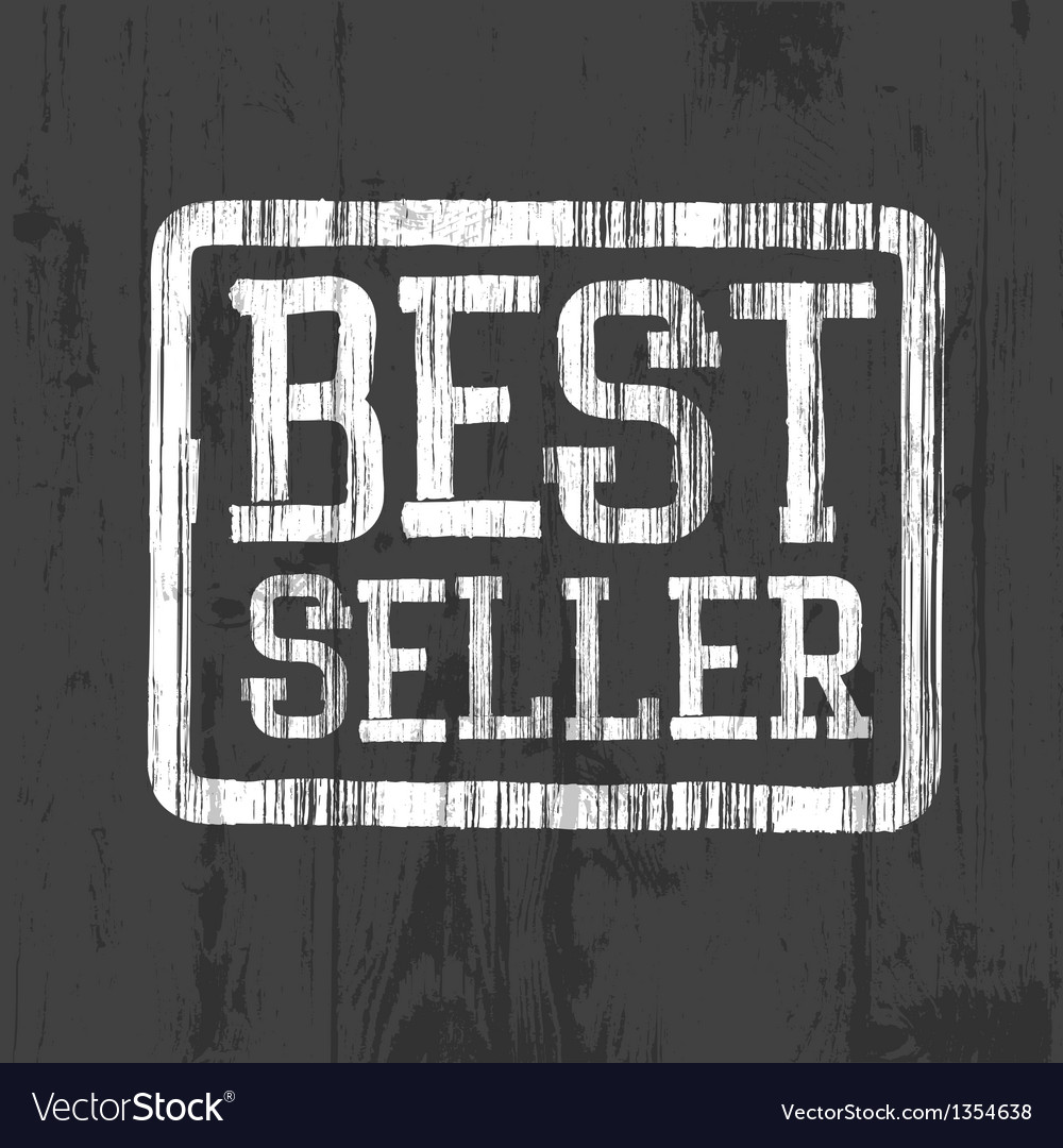 Best seller stamp vector | Price: 1 Credit (USD $1)