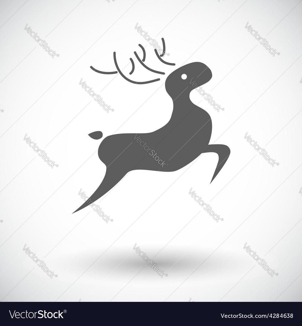 Deer icon vector | Price: 1 Credit (USD $1)