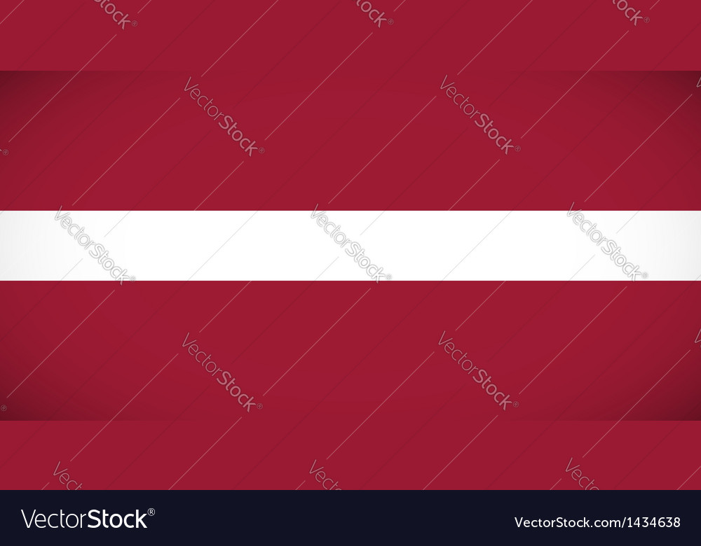 National flag of latvia vector | Price: 1 Credit (USD $1)