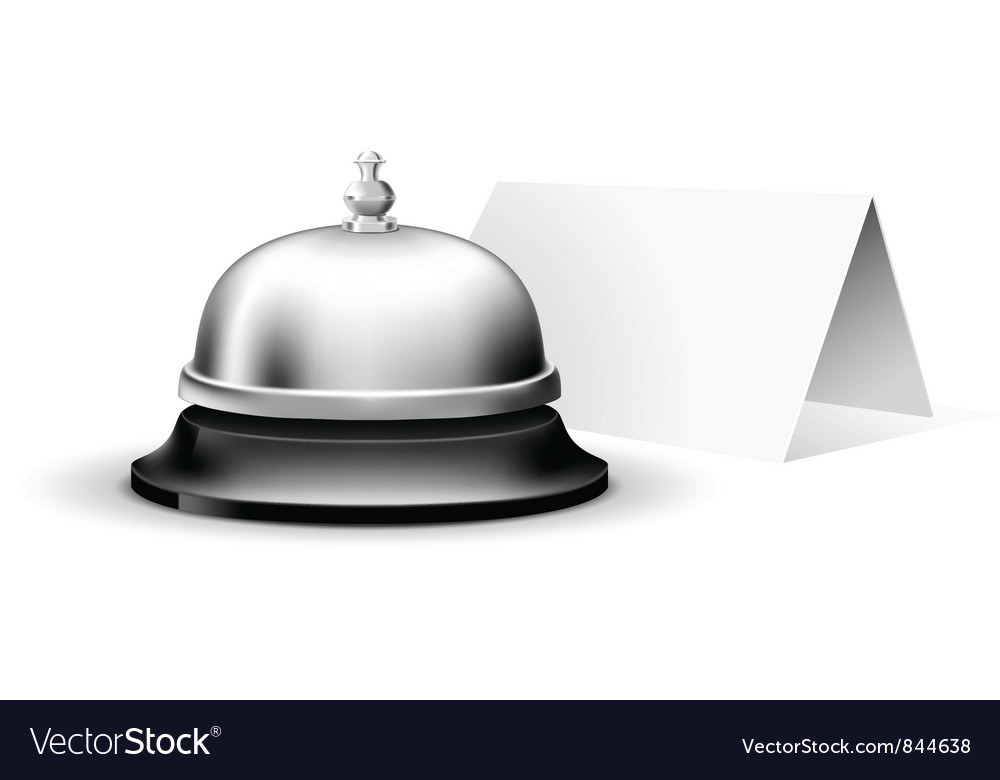 Service bell vector | Price: 3 Credit (USD $3)