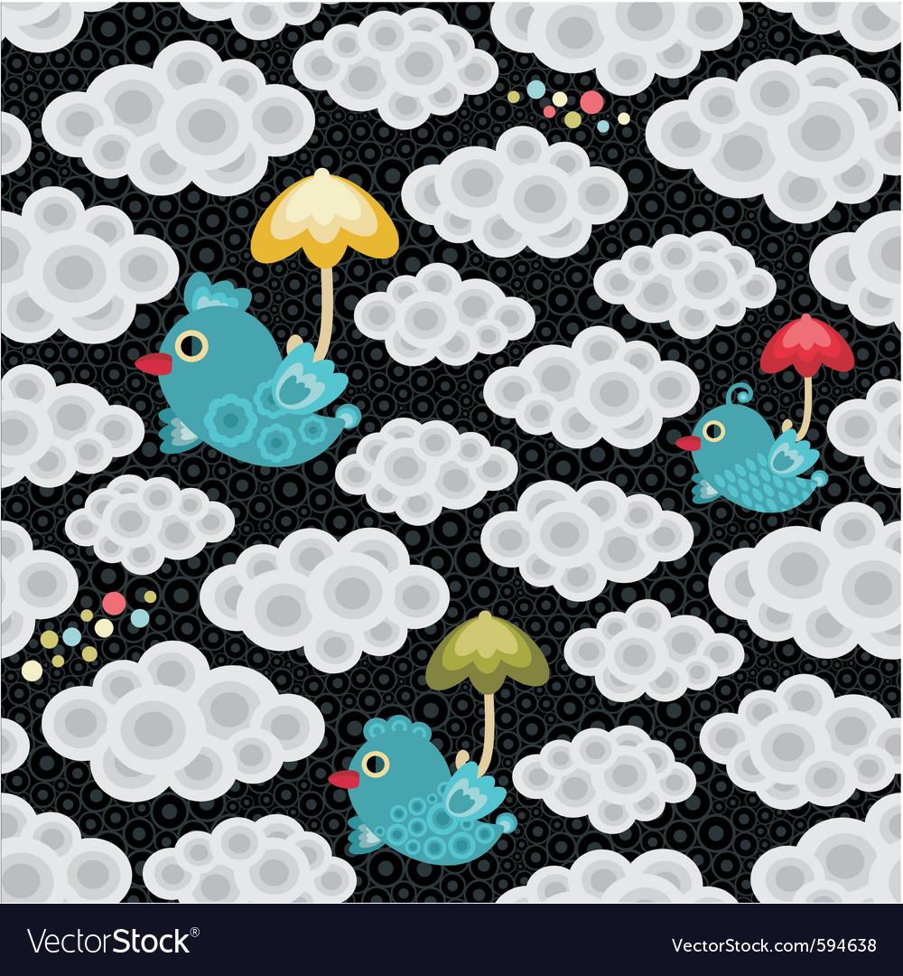 Weather birds pattern vector   Price: 1 Credit (USD $1)