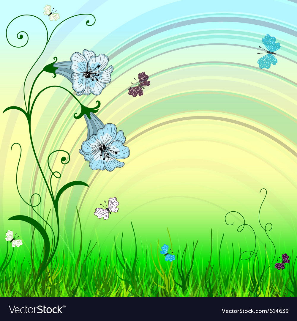 Spring background vector | Price: 3 Credit (USD $3)