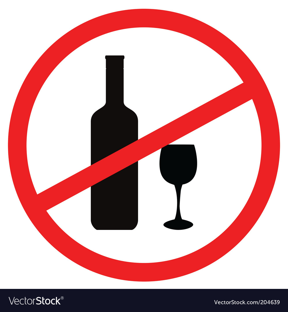 Stop alcohol vector   Price: 1 Credit (USD $1)