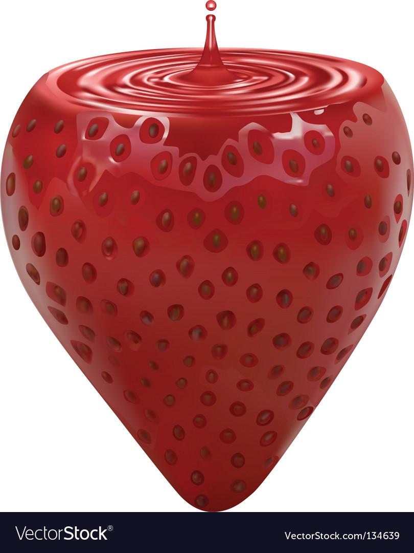 Strawbery vector | Price: 1 Credit (USD $1)