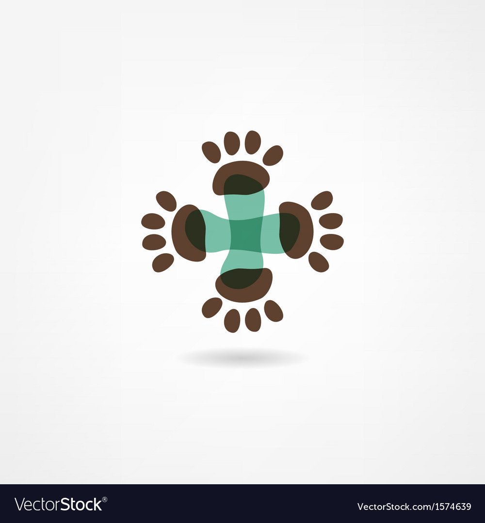 Veterinarian icon vector | Price: 1 Credit (USD $1)