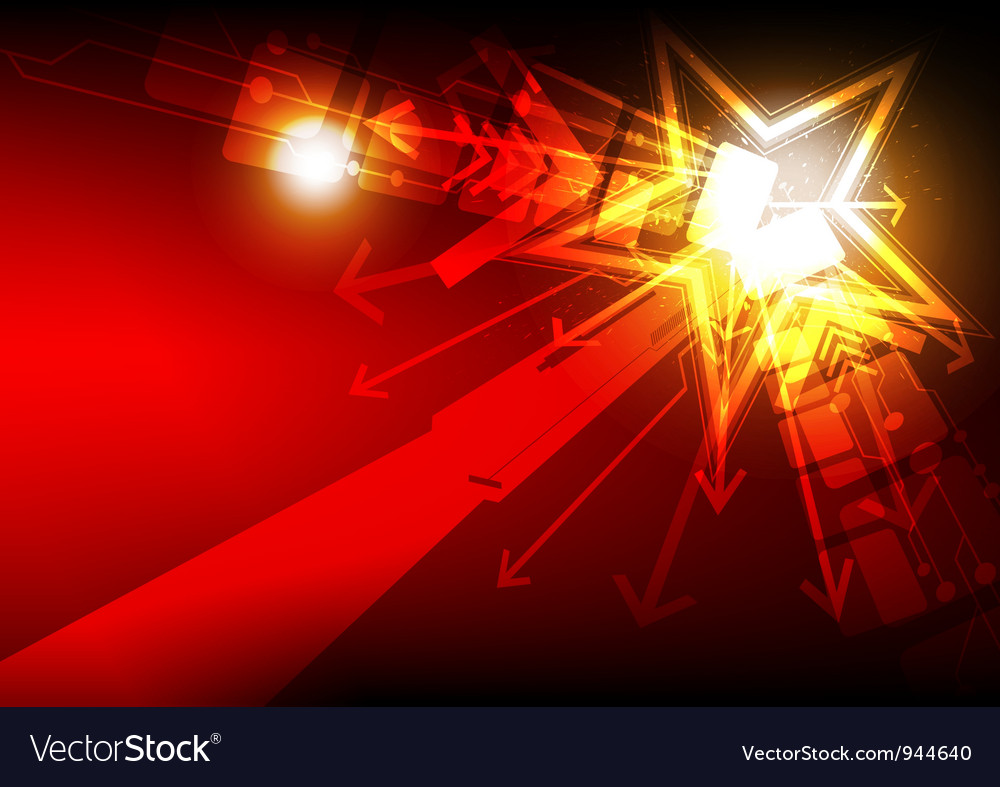 Abstract star light vector | Price: 1 Credit (USD $1)