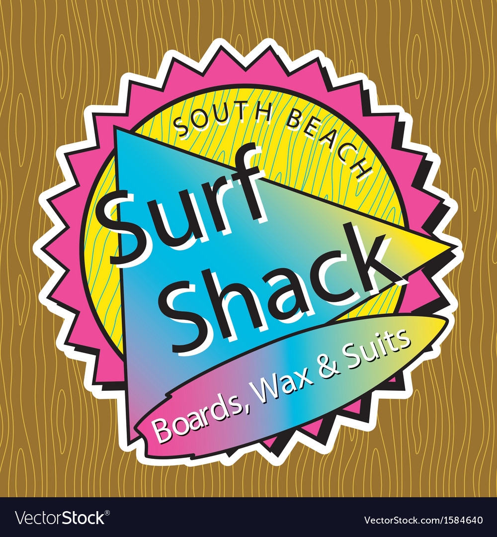 Classic surf logo vector | Price: 1 Credit (USD $1)