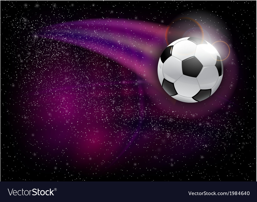 Football universe vector | Price: 1 Credit (USD $1)