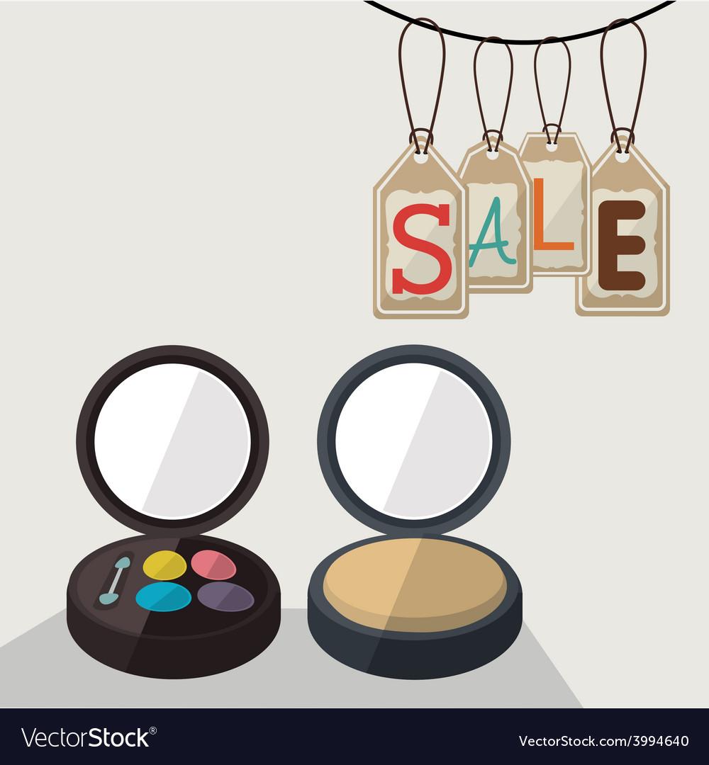 Make up desing ilustration vector | Price: 1 Credit (USD $1)