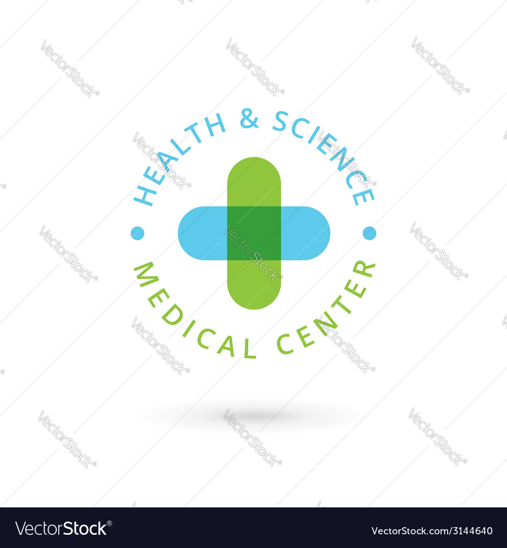 Medical center logo icon design template with vector | Price: 1 Credit (USD $1)