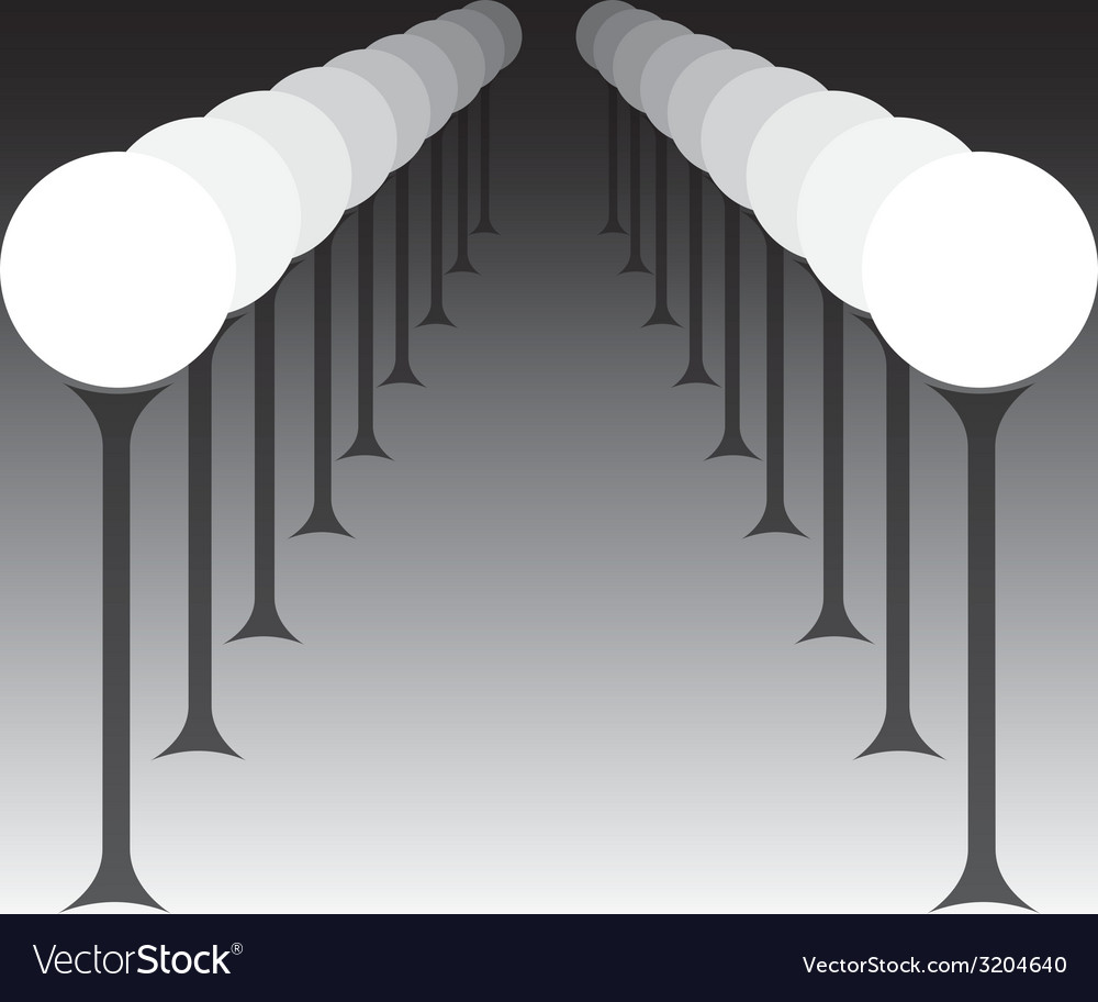 Outdoor lamps vector | Price: 1 Credit (USD $1)