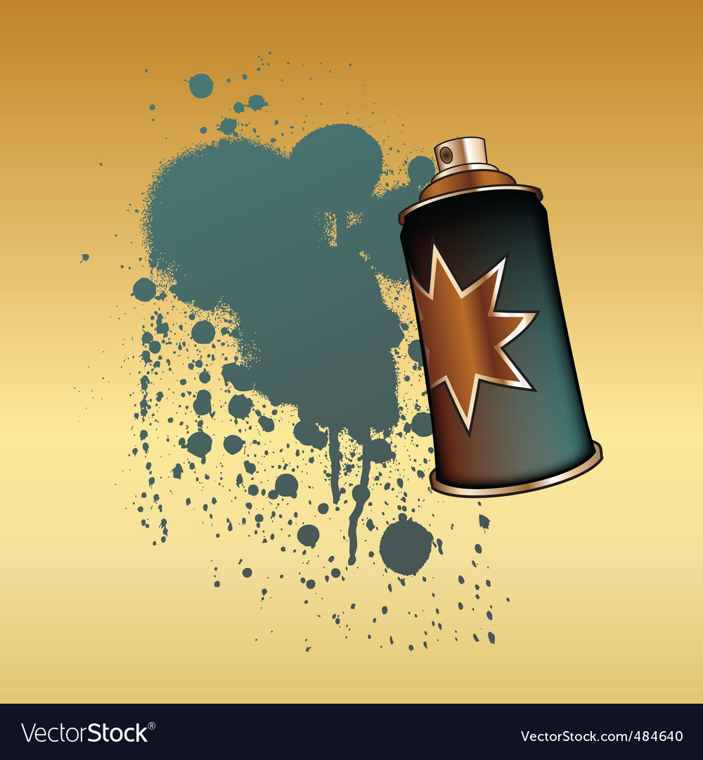 Spray aerosol vector | Price: 1 Credit (USD $1)