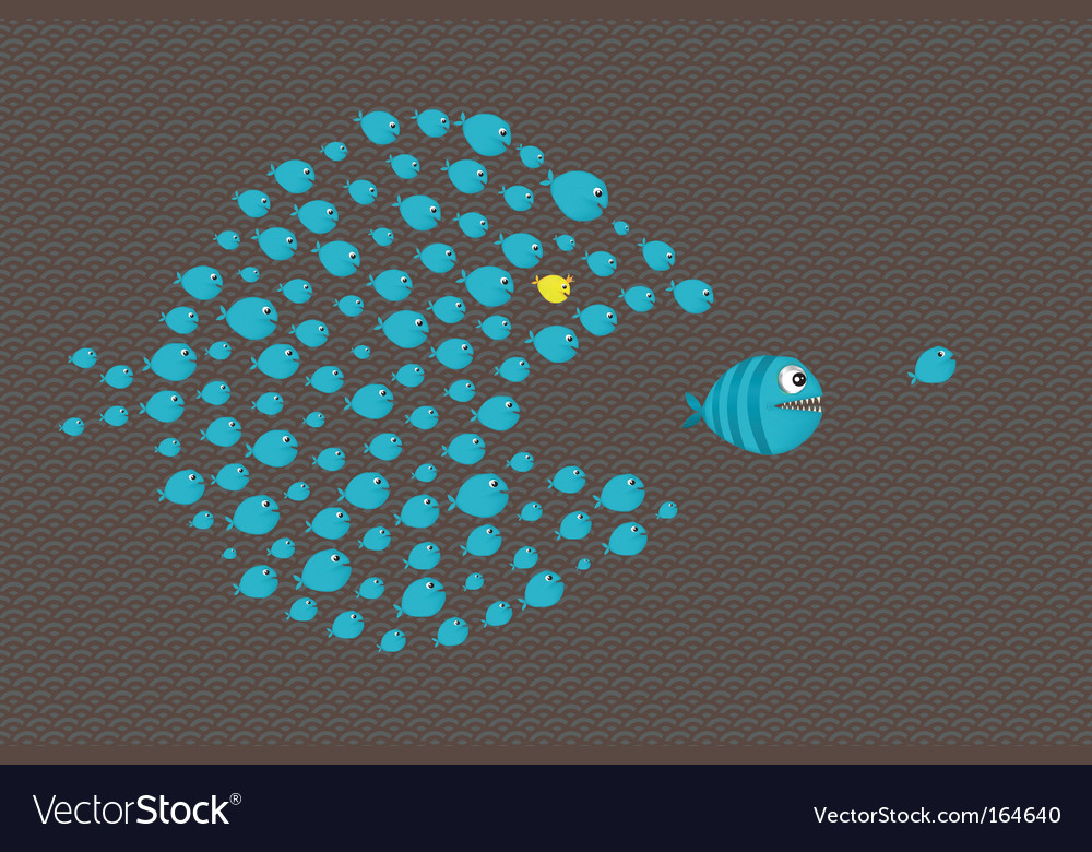 Twice fishing vector | Price: 1 Credit (USD $1)