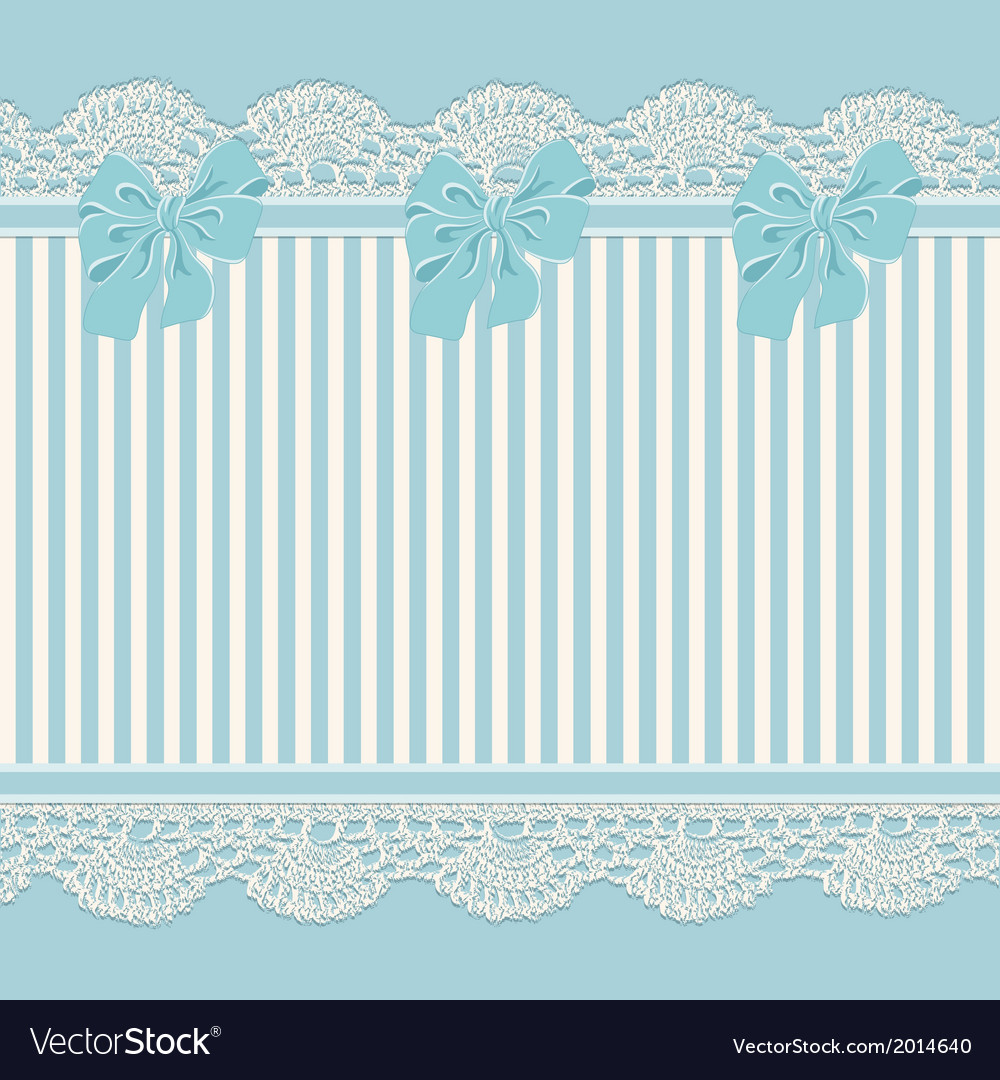 Vintage background with lace vector | Price: 1 Credit (USD $1)