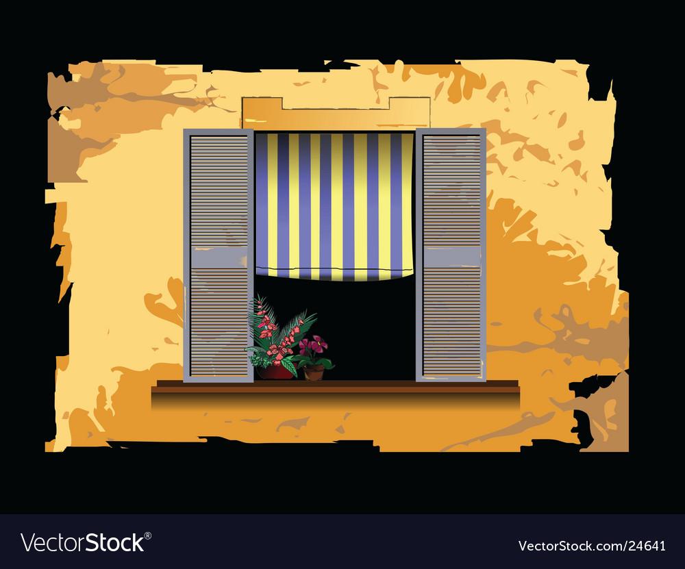 Window design vector | Price: 1 Credit (USD $1)