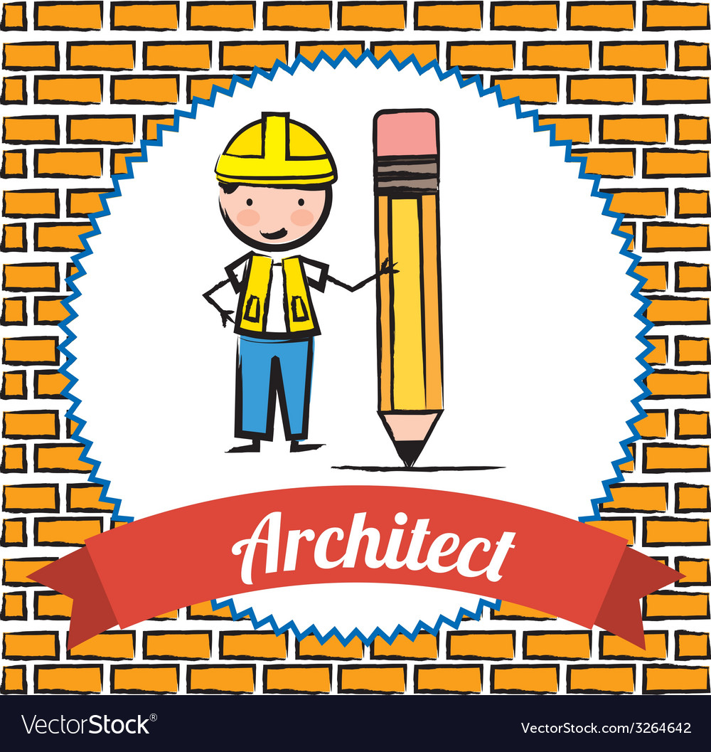 Architect design vector | Price: 1 Credit (USD $1)