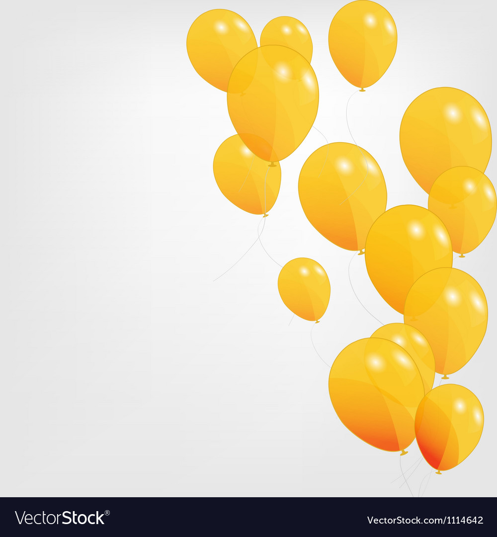 Colored balloons vector | Price: 1 Credit (USD $1)