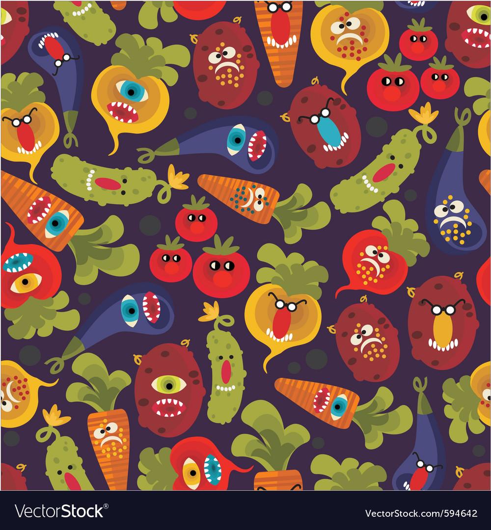 Vegetable cartoons vector   Price: 1 Credit (USD $1)