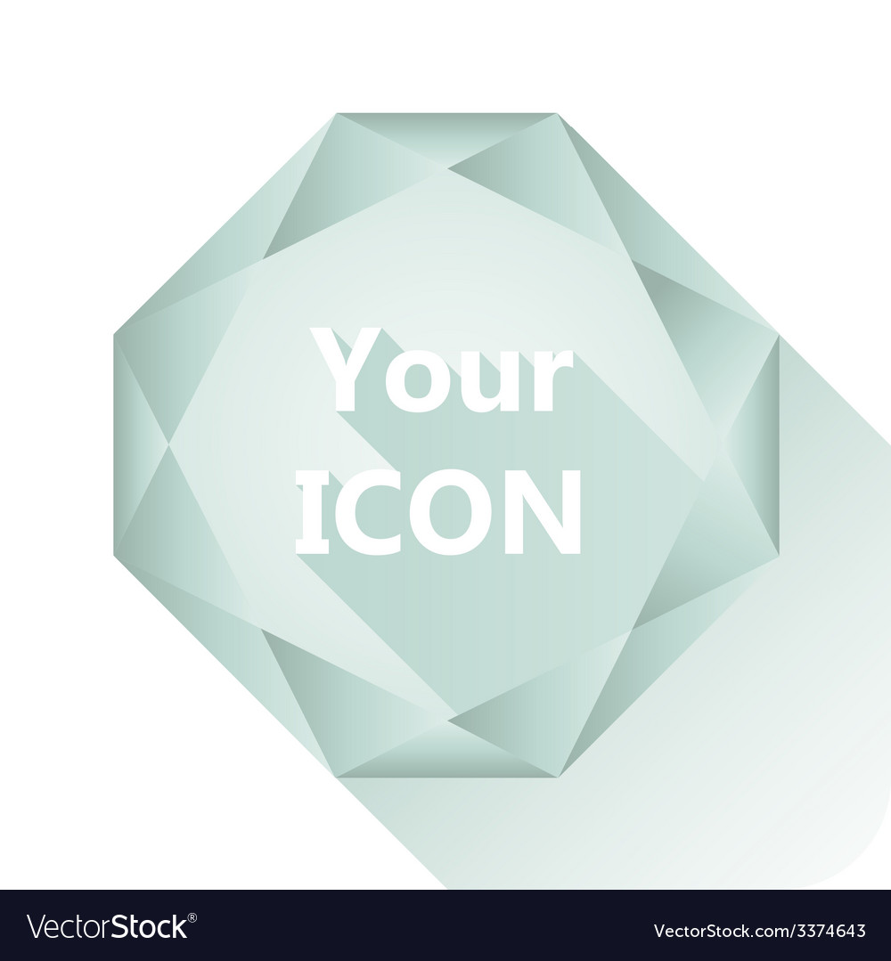 Diamond base for your logo vector | Price: 1 Credit (USD $1)