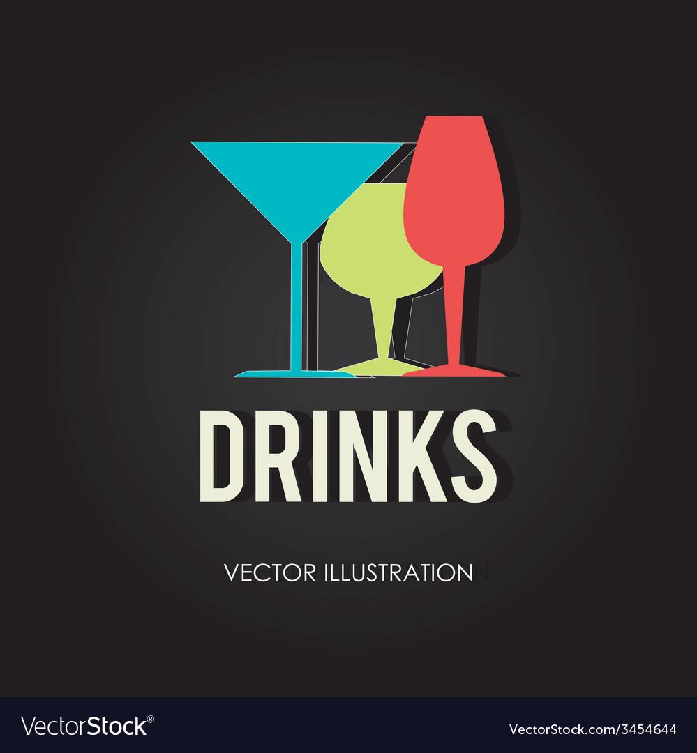 Drink design vector | Price: 1 Credit (USD $1)