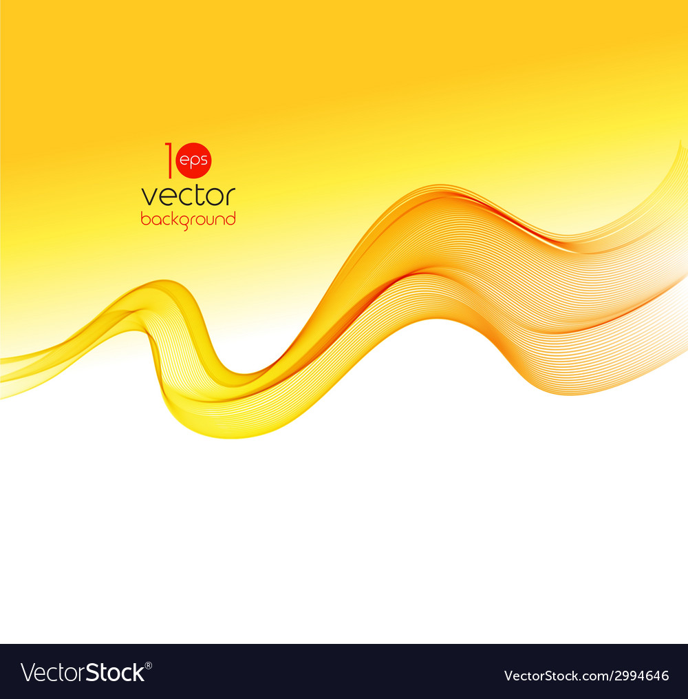 Abstract colorful transparent wave background vector | Price: 1 Credit (USD $1)