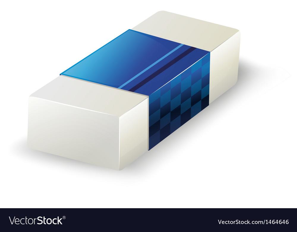 An eraser vector | Price: 1 Credit (USD $1)