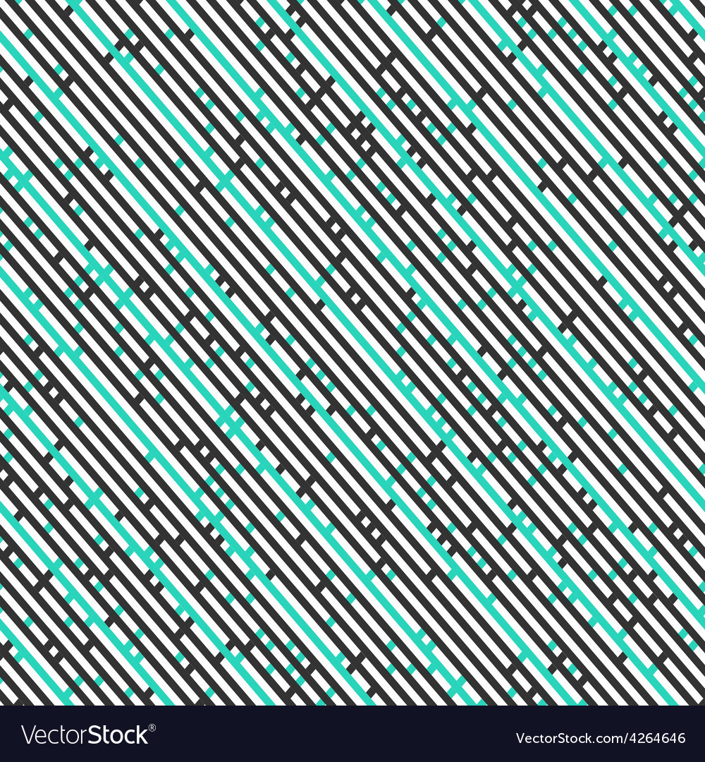 Diagonal stripes seamless pattern vector | Price: 1 Credit (USD $1)