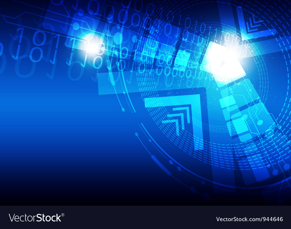 Digital concept technology background vector | Price: 1 Credit (USD $1)