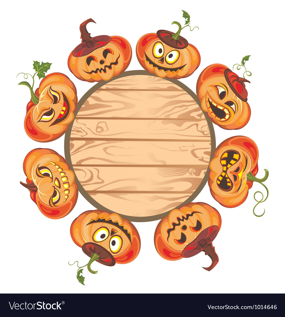 Halloween pumpkin set vector | Price: 3 Credit (USD $3)