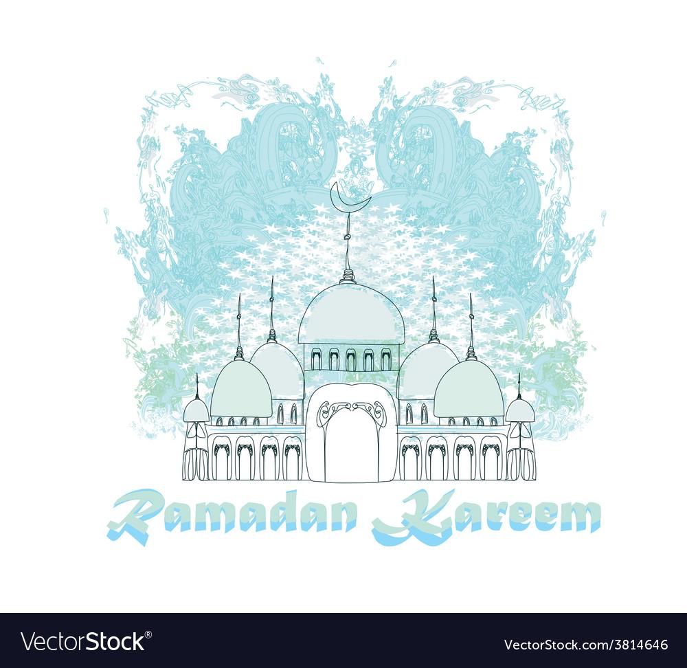Mosque vector   Price: 1 Credit (USD $1)