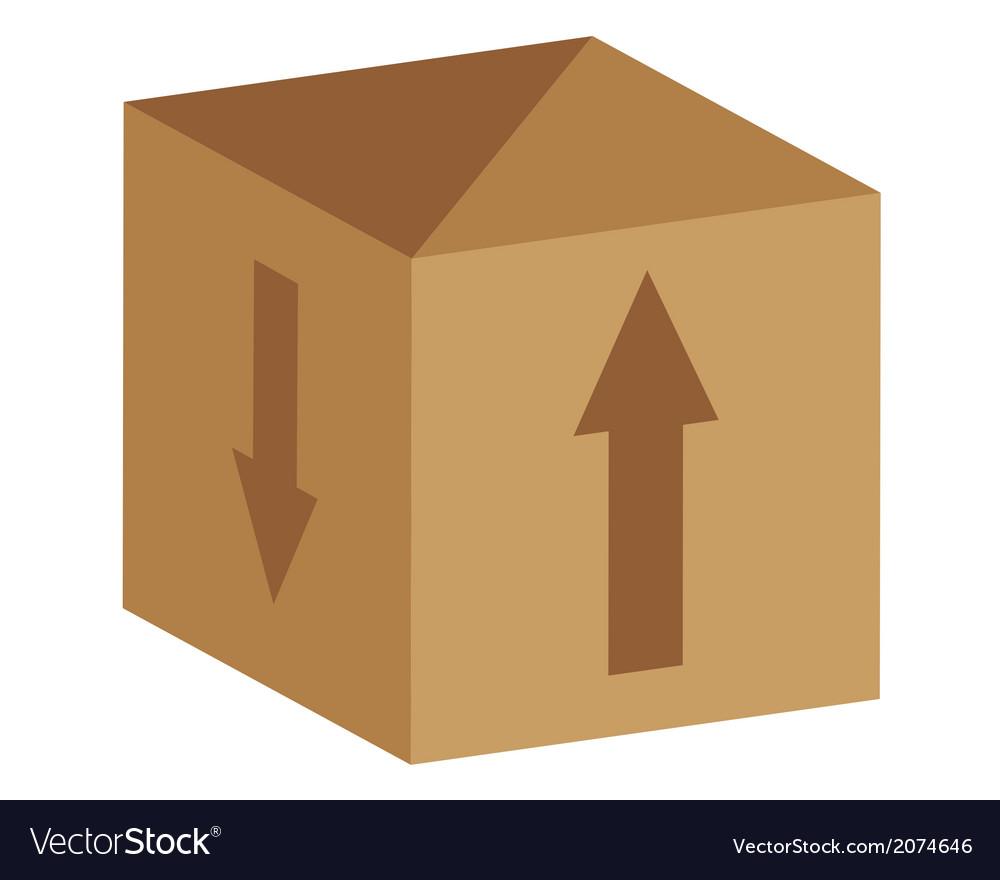 Paper box vector | Price: 1 Credit (USD $1)