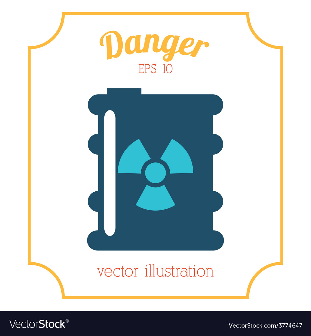 Danger icon vector | Price: 1 Credit (USD $1)