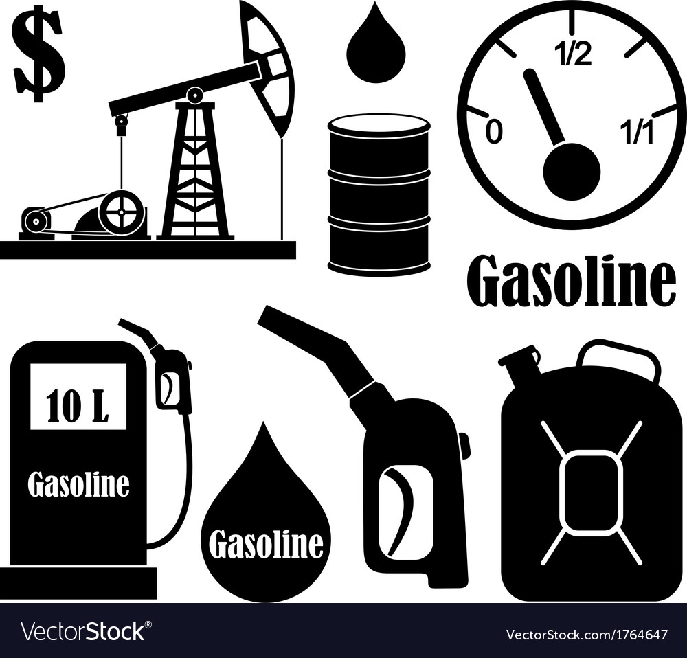 Gasoline vector | Price: 1 Credit (USD $1)