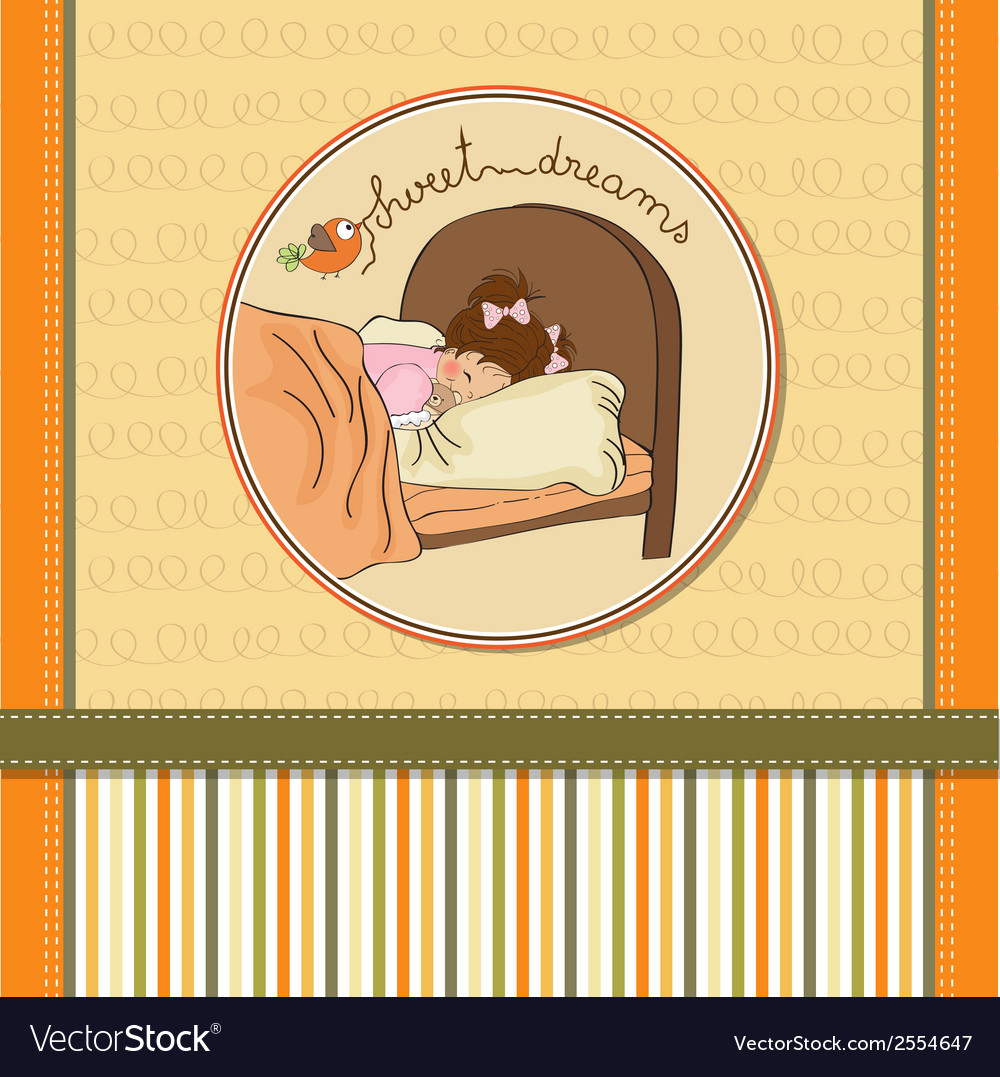 New baby girl arrived vector | Price: 1 Credit (USD $1)