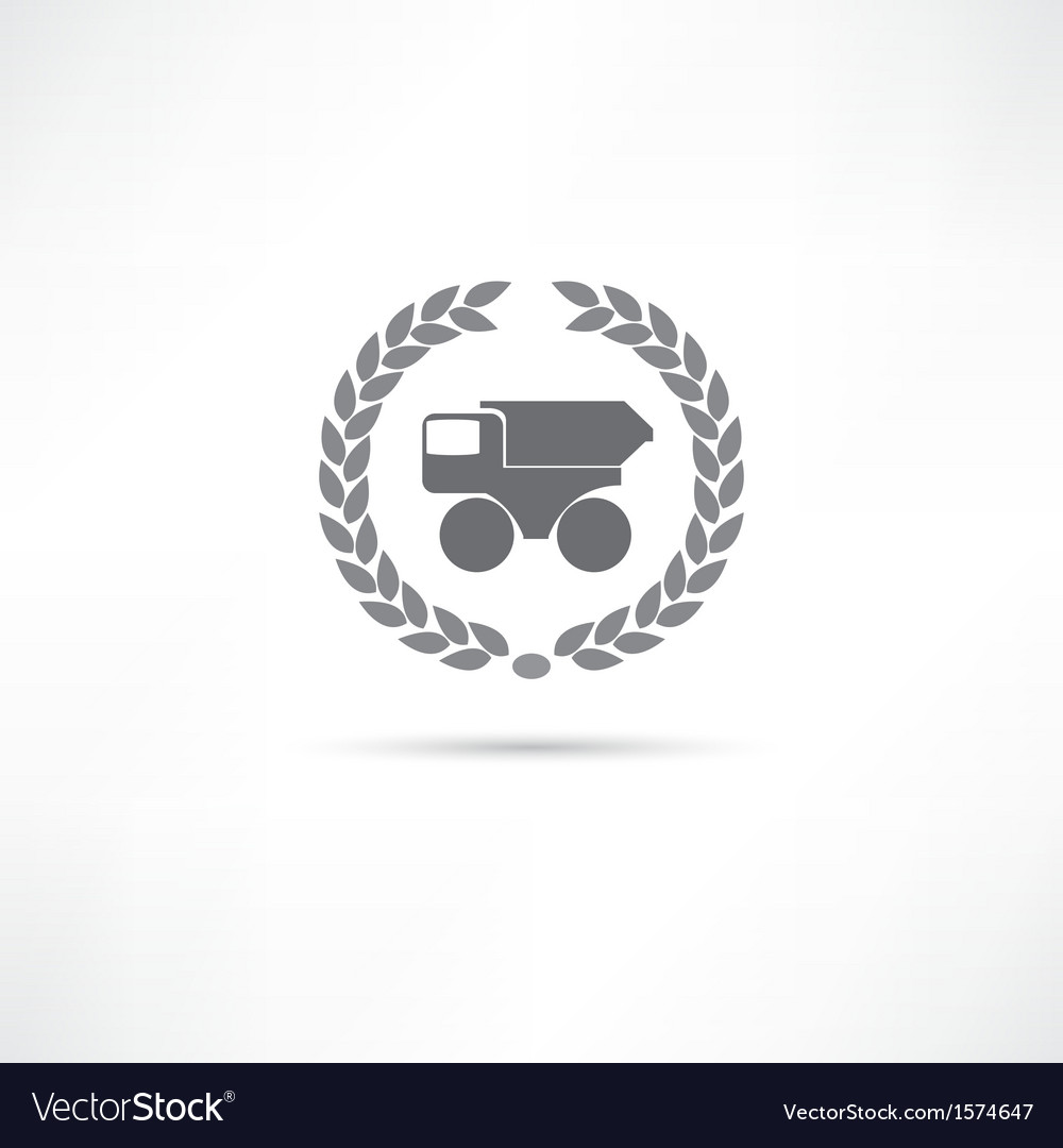 Truck icon vector | Price: 1 Credit (USD $1)