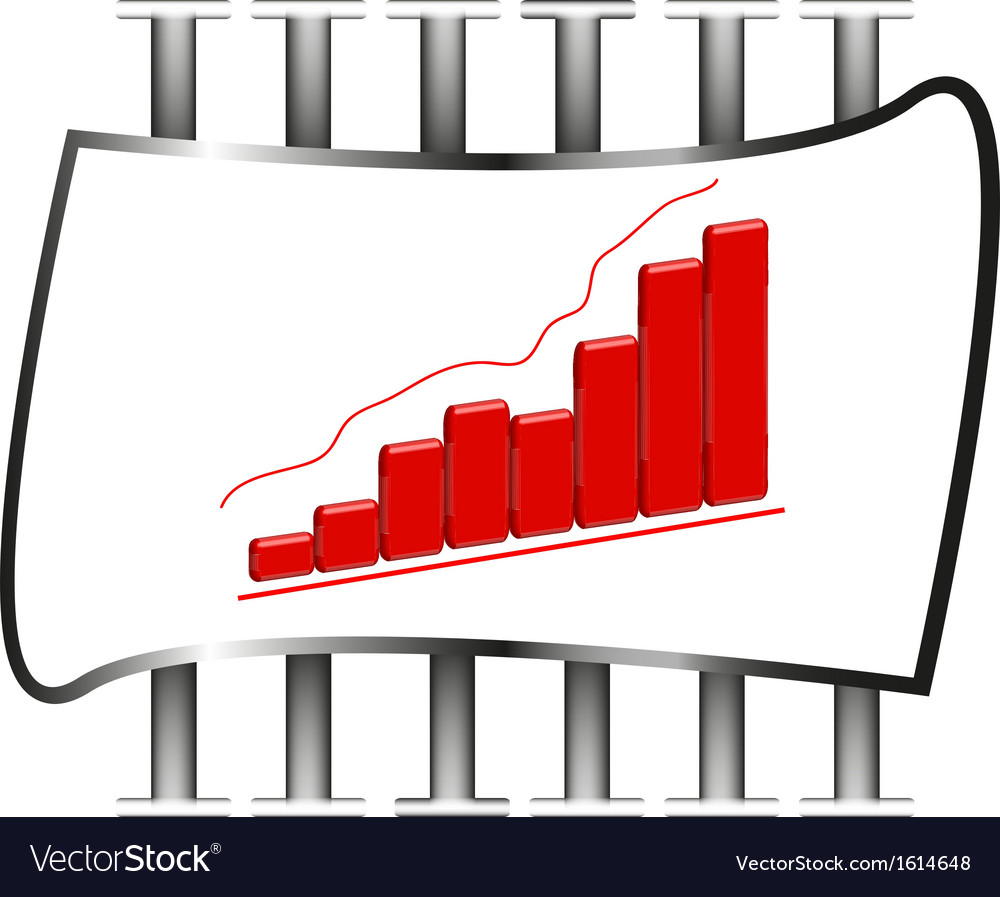 3d of business chart vector | Price: 1 Credit (USD $1)